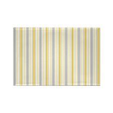 Amber Stripe Duvet King Rectangle Magnet