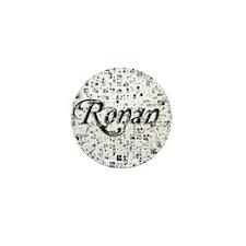 Ronan, Matrix, Abstract Art Mini Button