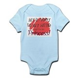 Daddy Hero/Princess Infant Bodysuit