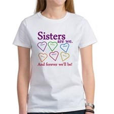Sisters Are We Personalize Tee