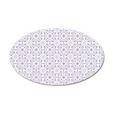 Amara Lilac Coin Purse 35x21 Oval Wall Decal