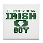 Property of an Irish Boy Tile Coaster