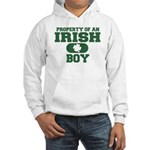 Property of an Irish Boy Hooded Sweatshirt