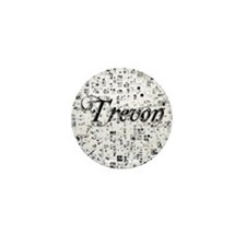 Trevon, Matrix, Abstract Art Mini Button