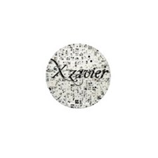 Xzavier, Matrix, Abstract Art Mini Button