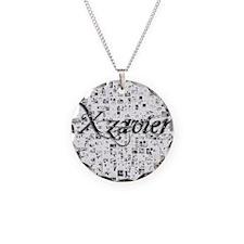 Xzavier, Matrix, Abstract Ar Necklace