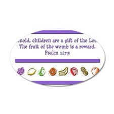 Psalm 127:3 Wall Decal
