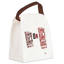Killer Canvas Lunch Bag