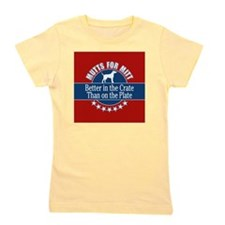 Mutts for Mitt Girl's Tee