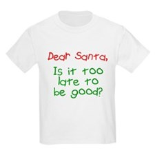 Dear Santa Too Late? T-Shirt