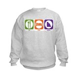 Eat Sleep Cashier Sweatshirt
