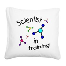 T baby molucule-001 Square Canvas Pillow