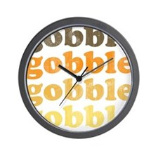 Thanksgiving Retro Wall Clock