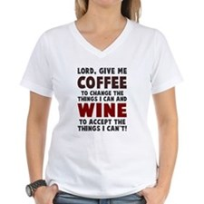 Coffee and Wine Shirt