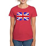 UK Flag Women's Dark T-Shirt
