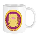 2007 Golden Pig Coffee Mug