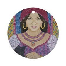 Gypsy Round Ornament