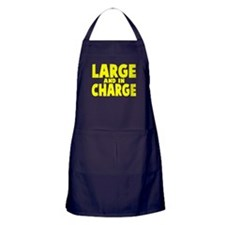 Large and In Charge Apron (dark)