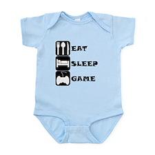 Eat Sleep Game Body Suit
