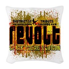 Customize Revolt! Woven Throw Pillow