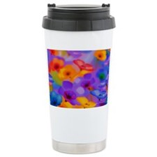 Beautiful Flowers Ceramic Travel Mug