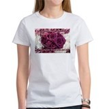 Women's Rose Slogan T-Shirt