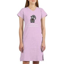 Squirrel Nut White Women's Nightshirt