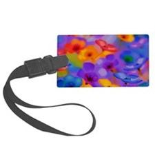Beautiful Flowers Luggage Tag