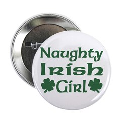 Naughty Irish Girl Button
