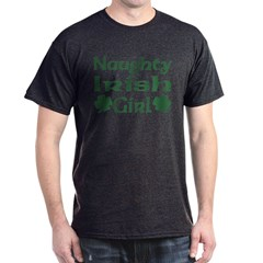 Naughty Irish Girl Dark T-Shirt