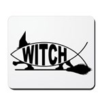 Witch Fish Mousepad