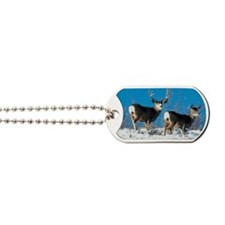 Mule deer Dog Tags