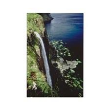 Waterfall , Isle of Skye , Scotla Rectangle Magnet