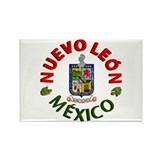 Nuevo Le&#243;n Rectangle Magnet (10 pack)