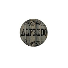 Alfredo, Western Themed Mini Button