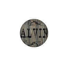 Alvin, Western Themed Mini Button