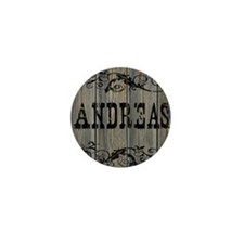 Andreas, Western Themed Mini Button