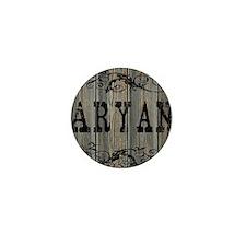 Aryan, Western Themed Mini Button