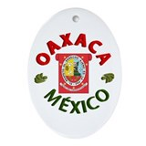 Oaxaca Oval Ornament