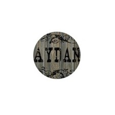Aydan, Western Themed Mini Button