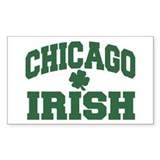 Chicago Irish Rectangle Decal