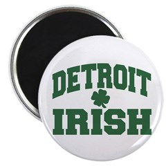 "Detroit Irish 2.25"" Magnet (10 pack)"