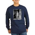 Lee portrait Long Sleeve Dark T-Shirt