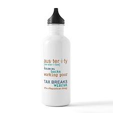 Austerity Republican T Water Bottle