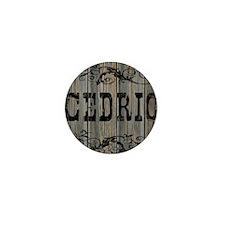 Cedric, Western Themed Mini Button