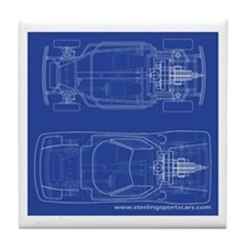 Sports Cars Tile Coaster