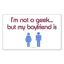I'm not a geek... but my boyfriend is Decal