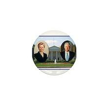 Madame President & Mr. President Mini Button (10 p
