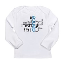 Irish Dance Words Long Sleeve T-Shirt