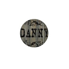 Danny, Western Themed Mini Button